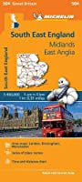 South East England - Michelin Regional Map 504 (Michelin Regional Maps)