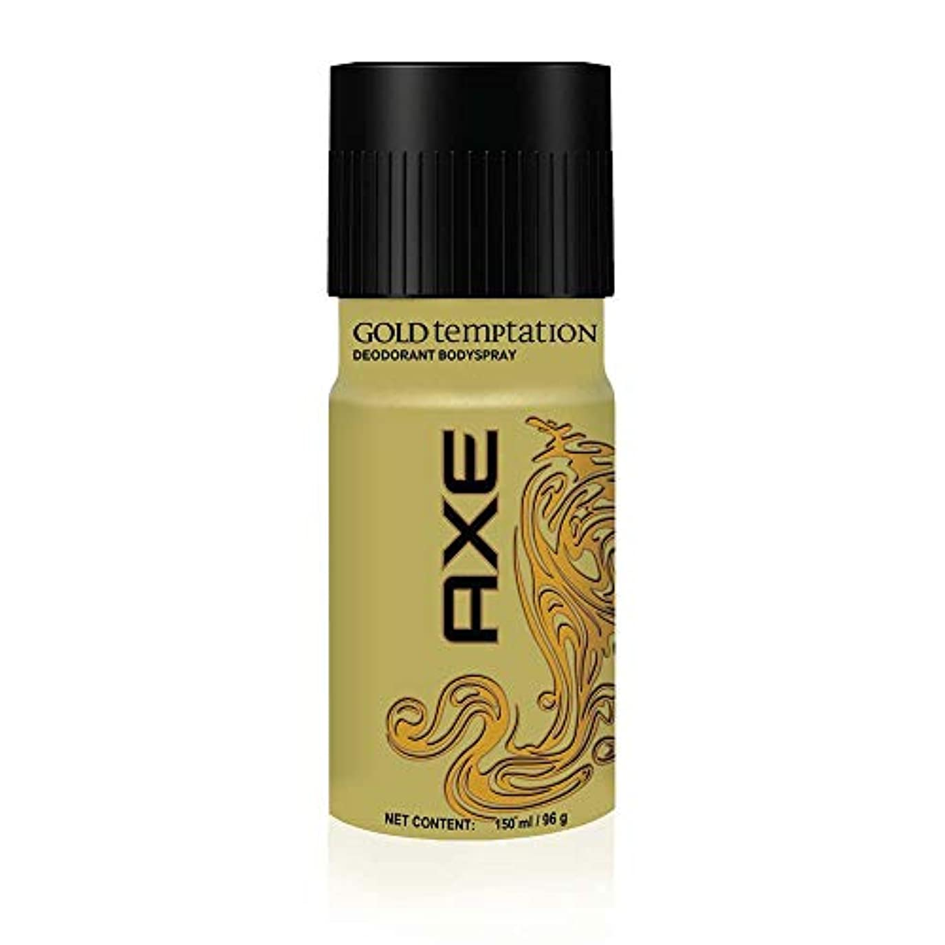 毎月完了不正確AXE Gold Temptation Deodorant, 150 ml