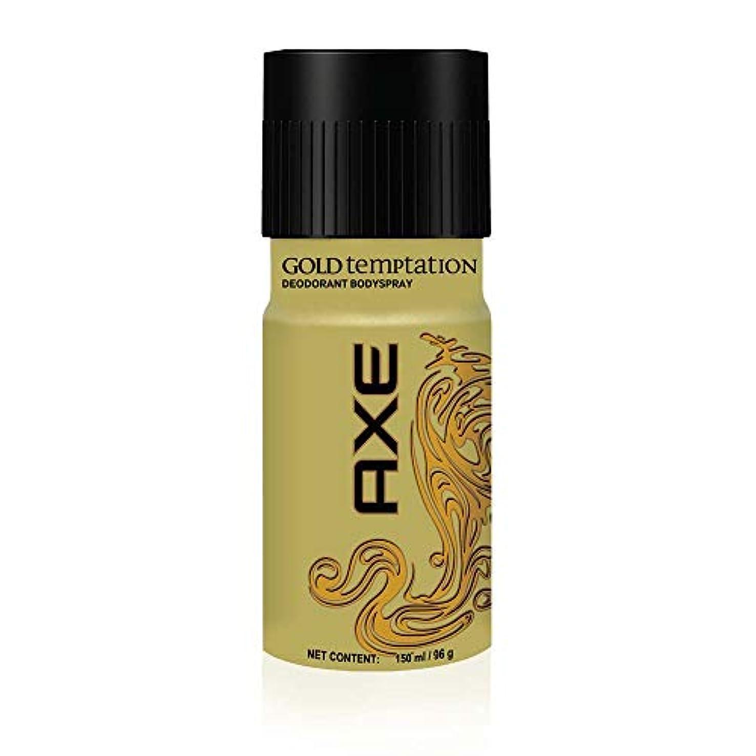 ポーター減らす家庭教師AXE Gold Temptation Deodorant, 150 ml
