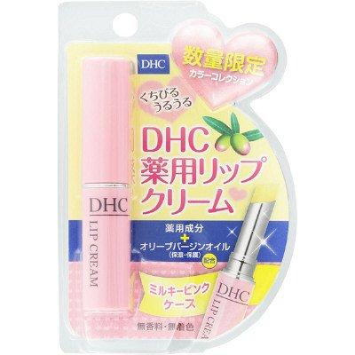 DHC 薬用リップクリーム カラーコレクション ミルキーピン...