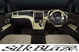 SilkBlaze(シルクブレイズ) パネル8Pセット ヴェルファイア/20アルファード/白木目(クローム) SB-PNL-091