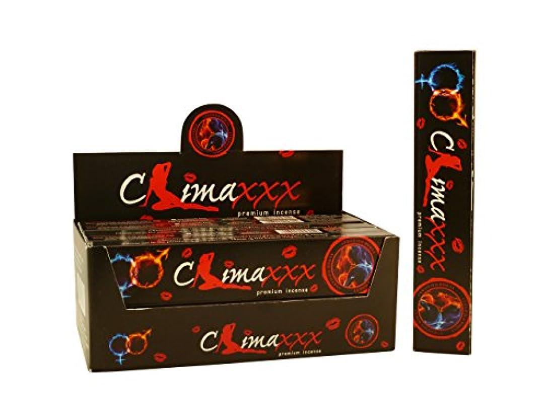 オール元気公然とNandita Climaxxx Incense Sticks Clima XXX Aphrodisiac – 15 Gボックス