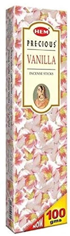 暴力グロードナウ川Hem Precious Vanilla Agarbatti - 100 g