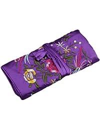 刺繍 小物入れ ポーチ 刺繍 可愛い 花柄 匂い袋 香り 貴重品入れ 化粧品袋 貴重品入れ アクセサリー