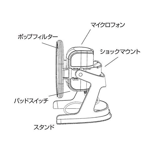 マランツプロ USB コンデンサーマイク ポッ...の紹介画像6