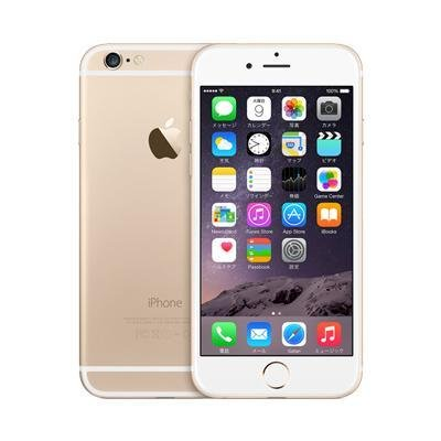 Apple au iPhone6 16GB A1586 (NG492J/A) ゴールド