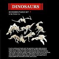ROCKS MOTION・3D組み立てパズルセット(立体ジグソーパズル) (恐竜)