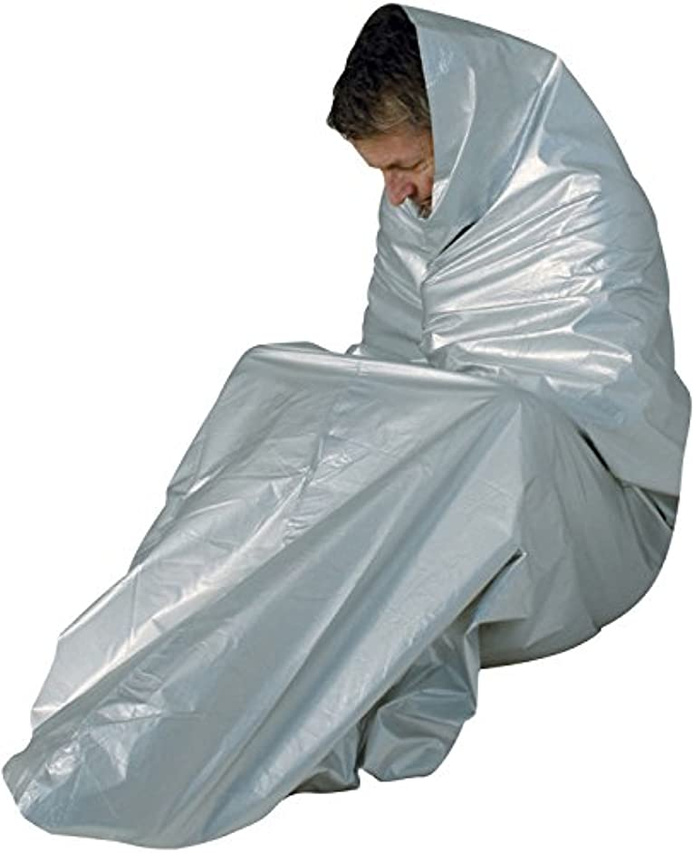 敷居以内に進化TravelSafe(トラベルセーフ) アウトドア 防風 防水 緊急用シェルター サーマルビヴィバッグ TS04360000