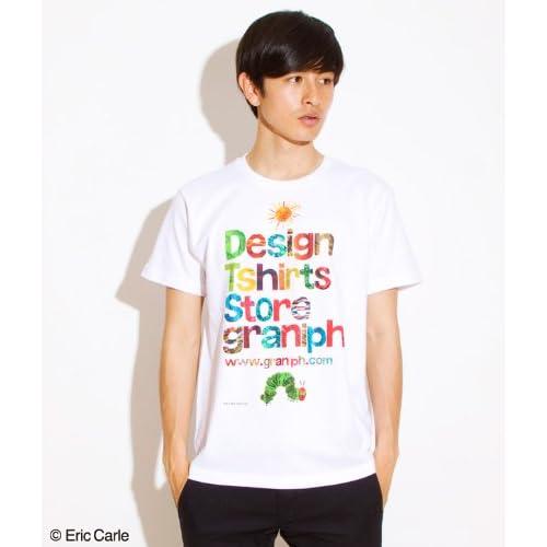 ( グラニフ ) graniph コラボレーションTシャツ / エリックカール ( エリックカール タテロゴ ) ( ホワイト ) SS