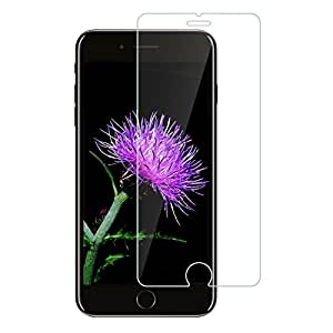 iPhone8 Plus フィルム,GACOYI 旭硝子製 iPhone8 Plus ガラスフィルム スクラッチ防止 99%透過率 9H硬度 0.15mm超薄型
