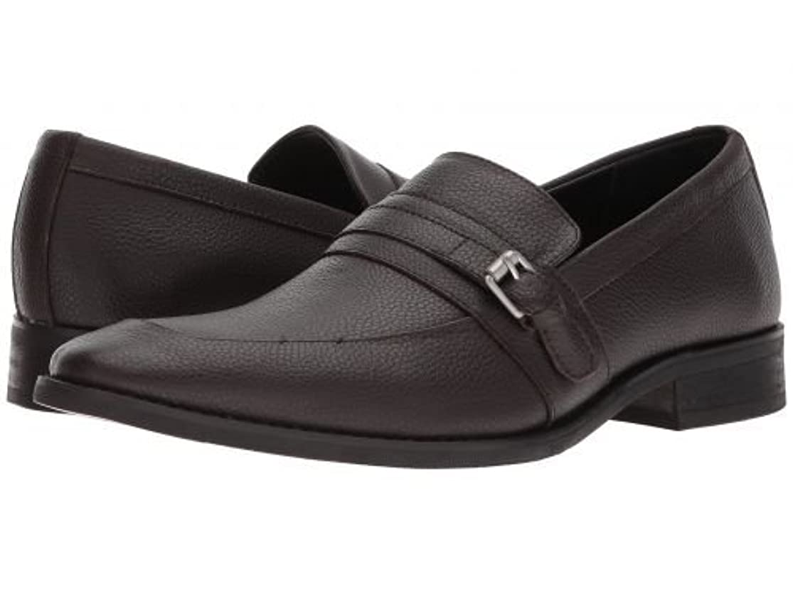 ひいきにするメディック瞳Calvin Klein(カルバンクライン) メンズ 男性用 シューズ 靴 ローファー Reyes - Dark Brown [並行輸入品]