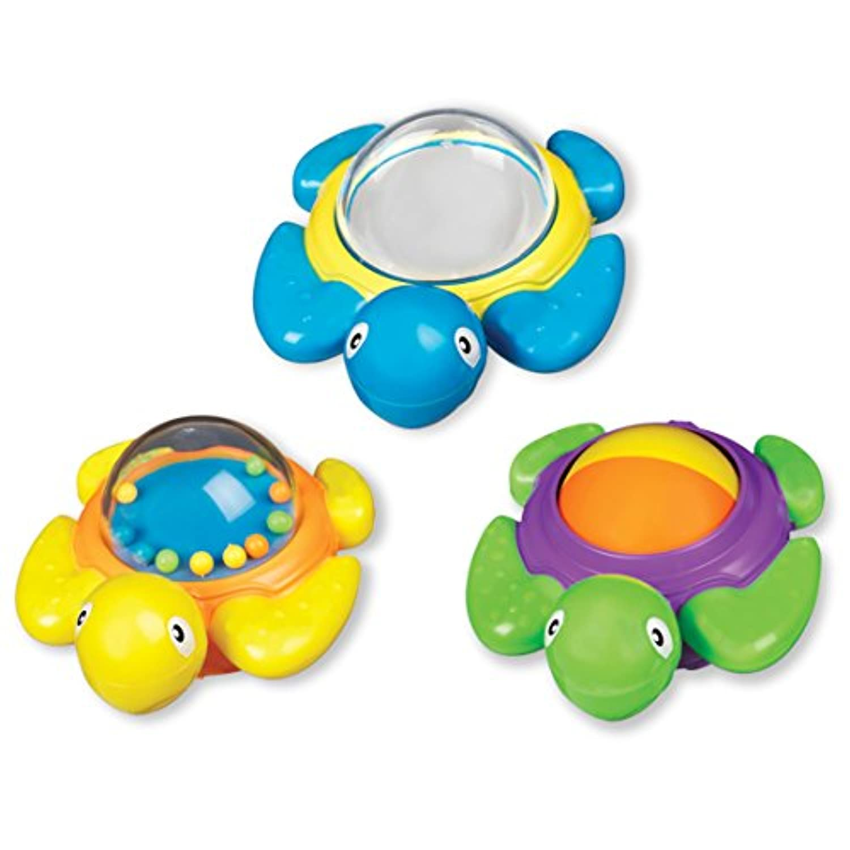 Munchkin, Bath Time Turtles, 12+ Months, 3 Pack