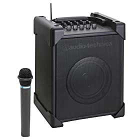 audio-technica UHFワイヤレスアンプシステム マイク付属 ATW-SP717M