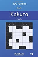Kakuro Puzzles - 200 Puzzles 8x8 vol.4