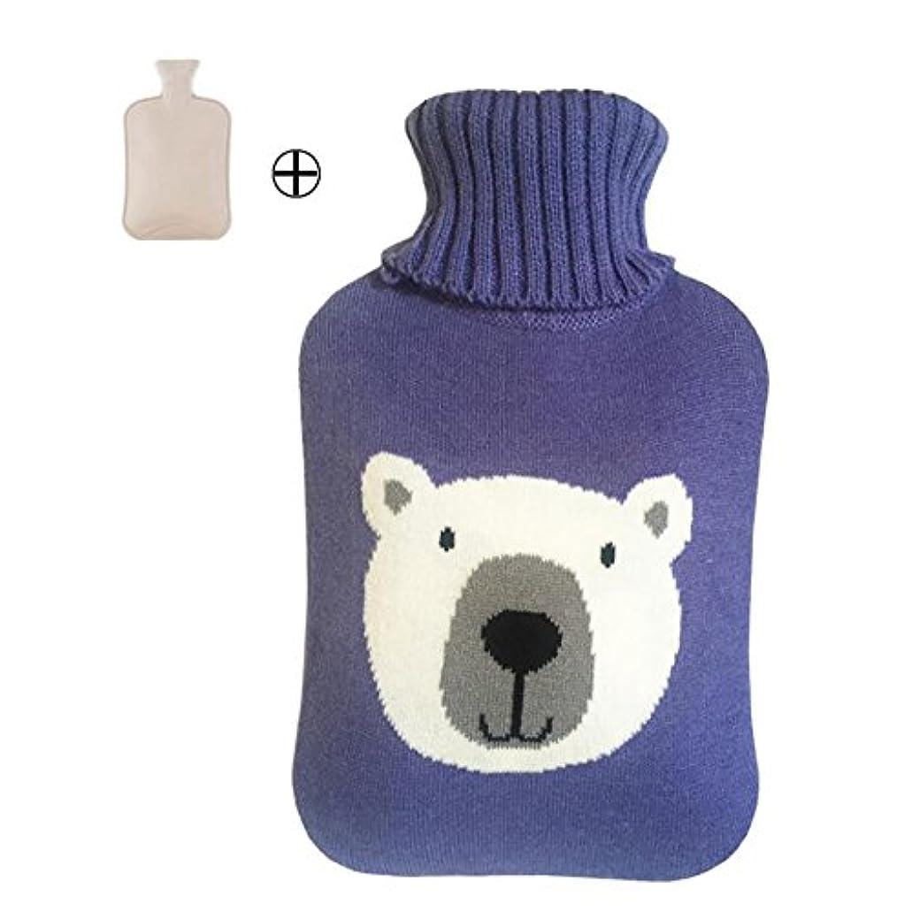 解凍する、雪解け、霜解け完全に乾く棚便利なホットウォーターボトル美しい豚のデザイン - 2000 ML