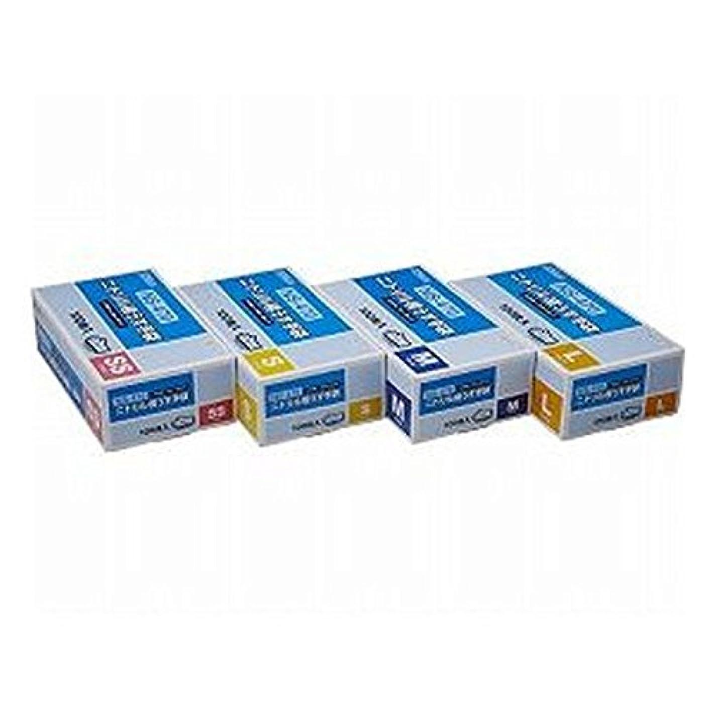 医療の存在するフェード(株)ダンロップホームプロダクツ ニトリル極薄手袋 100枚 L ブルー