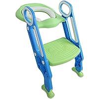 子供、幼児トイレ トイレ椅子の子供のための非スリップはしご、赤ちゃんのトイレ トレーニング座椅子用トイレ トレーニング シート