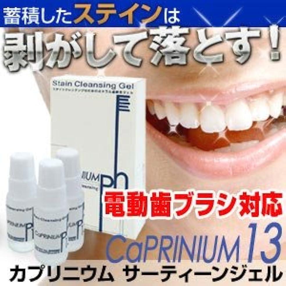 カプリニウム サーティーンジェル(CaPRINIUM 13) 新発想のホワイトニング歯磨きジェル