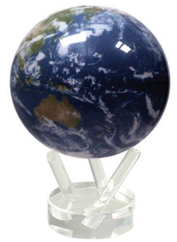 光で回る地球儀 ムーバグローブ クラウドサテライト 衛星 MOVA Globe Clouds Satellite 4.5インチ【海外直送・並行輸入品】