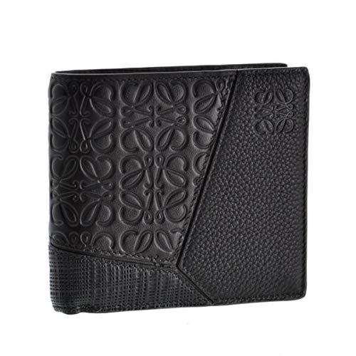 LOEWE(ロエベ) 財布 メンズ PUZZLE 2つ折り財布 BLACK 12499501-0052-1100 [並行輸入品]