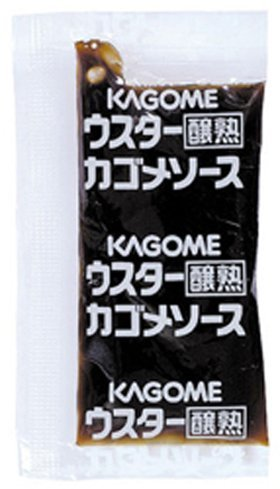 カゴメ)醸熟ウスターソースミニパック 8g×40個入