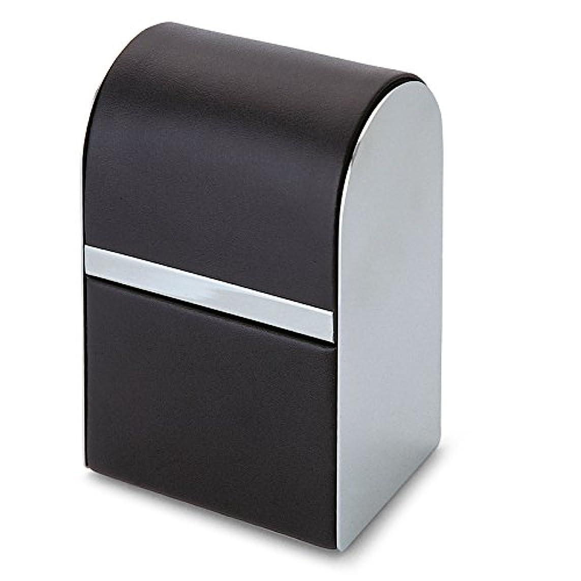 上下する蓋配るPhilippi Giorgio メンズ身だしなみキット 7pcsセット leather stainless polished
