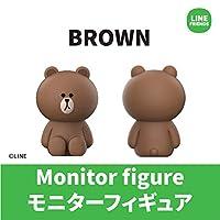 LINE FRIENDS LINE MONITOR FIGURE ライン モニターフィギュア ブラウン ブラウン RFG-LF-BR