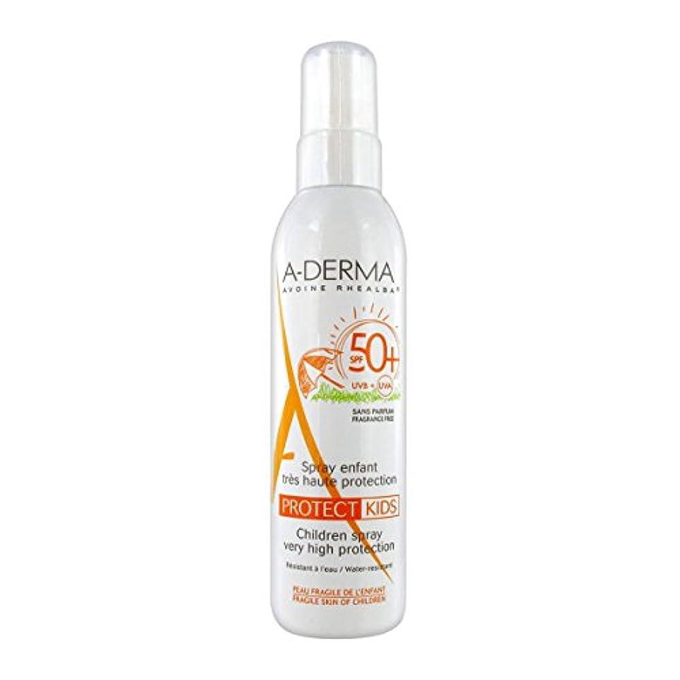 従順な効率私たち自身A-derma Protect Kids Spray Spf50+ 200ml [並行輸入品]