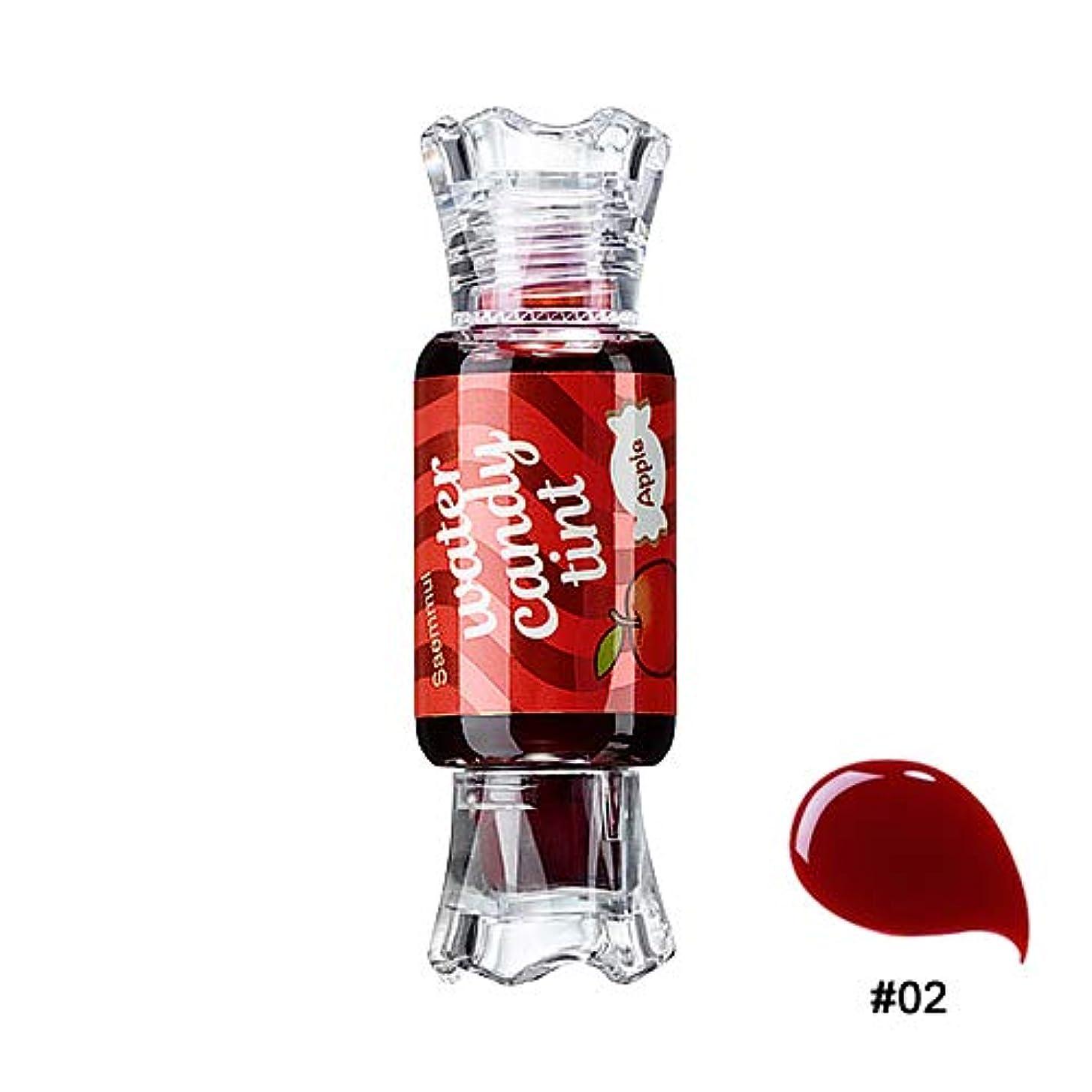 起業家持続的ウェーハThe Saem Saemmul Water Candy Tint #02.Apple ザセム セムムルウォーターキャンディティント #02.アップル [並行輸入品]