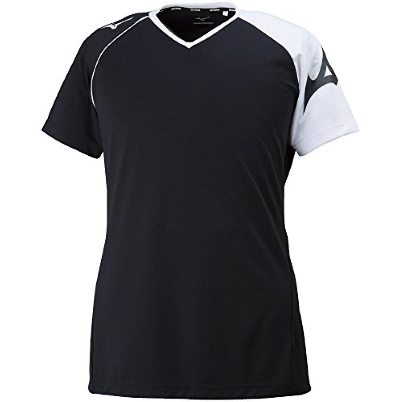 冊子従事した交渉する[ミズノ] バレーボールウェア プラクティスシャツ 半袖 吸汗速乾 ドライ 部活 練習 消臭 男女兼用 V2MA8082
