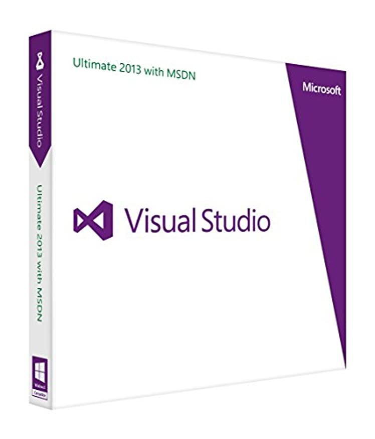 大量男らしいセクタMicrosoft Visual Studio Ultimate 2013 with MSDN英語