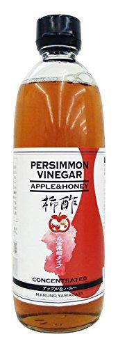 新 柿酢 濃縮 アップル&ハニー 500ml