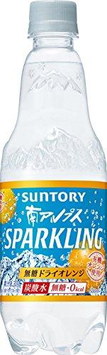 [炭酸水]サントリー 天然水 南アルプス スパークリング無糖ドライオレンジ 500ml×24本