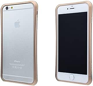 PRECISION by GRAMAS MB384 SCREW FREE Metal Bumper for iPhone 6 Plus(ゴールド)