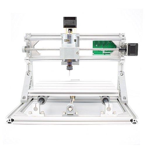 DIY 2-in-1 CNCルーターキット+ 2500mWレーザー CNC2418 ミニフライス盤 USBデスクトップ彫刻機、木材、木工用 マーキングマシン - DIY 2-in-1 CNC Router Kit CNC2418 + 2500mW Laser Engraver - Mini PCB Milling Machine, USB Desktop Engraving Marking Machine, For Wood, Woodworking