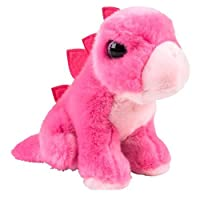 Heirloom Brights Collection Pink Stegosaurus Dinosaur Plush Stuffed Animal [並行輸入品]