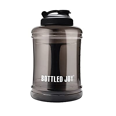 Sports Large Capacity Water Bottle Jug [85OZ/2.5L, Hard BPA-Free PETG Material] Huge Drinking Bottles Water Container for Outdoor Training Bodybuilding Gym Camping and More