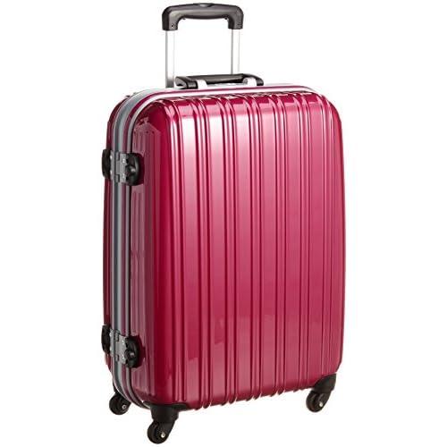 [エミネント] EMINENT スーツケース ウォッシュ鏡面S 63cm 45L TSAロック ポリカーボネート 75-23361 06 (ローズ)