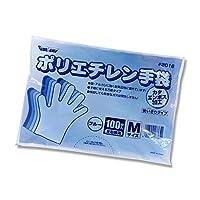 【ポリ手袋】2016 ポリエチカタエンボスブルー Mサイズ 1ケース10000枚