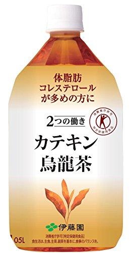 [トクホ] 伊藤園 2つの働き カテキン烏龍茶 1.05L×12本