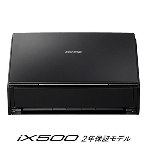 富士通 シートフィーダスキャナ ScanSnap ブラック FI-IX500A-P...