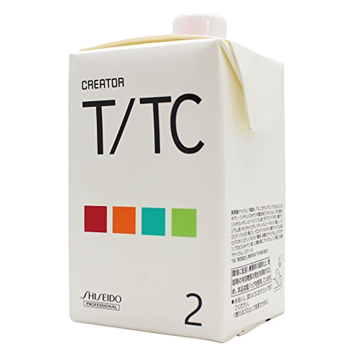 ゲストバター昆虫を見る資生堂 クリエイター T/TC 第2剤 400ml