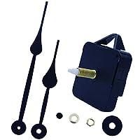 chiwanji 時計ムーブメントパッケージDIY修理部品交換用柱時計針黒、銅&アルミ