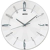 セイコー クロック 掛け時計 電波 アナログ 白 パール KX214W SEIKO