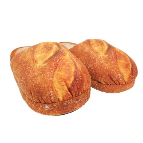 [大人 スリッパ]まるでパンみたいなスリッパン/オールドフランス