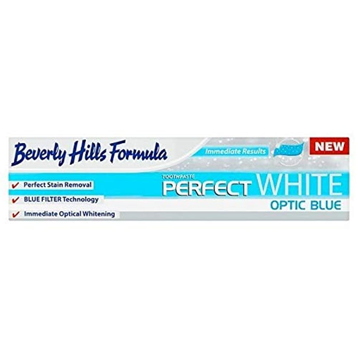 夜明けに統治する三番[Beverly Hills ] ビバリーヒルズ公式パーフェクトホワイト歯磨き粉の100ミリリットル - Beverly Hills Formula Perfect White toothpaste 100ml [並行輸入品]