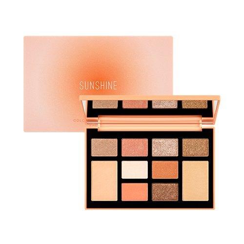 MISSHA Color Filter Shadow Palette [No.3 Sunshine Filter] / ミシャ カラーフィルターシャドウパレット [No.3 Sunshine Filter] [並行輸入品]