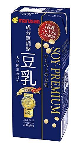 マルサン ひとつ上の豆乳 成分無調整 200ml ×24本