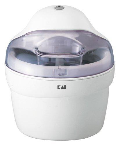 貝印(KAI) アイスクリームメーカー DL-0272 【ご家庭で3~4人分のアイスクリームが作れる容量サイズ】 貝印