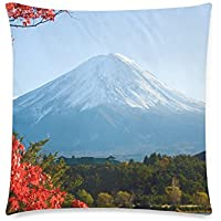 可愛い 子供 富士山の秋 座布団 45cm×45cm可愛い 子供 富士山の秋 座布団 45cm×45cm